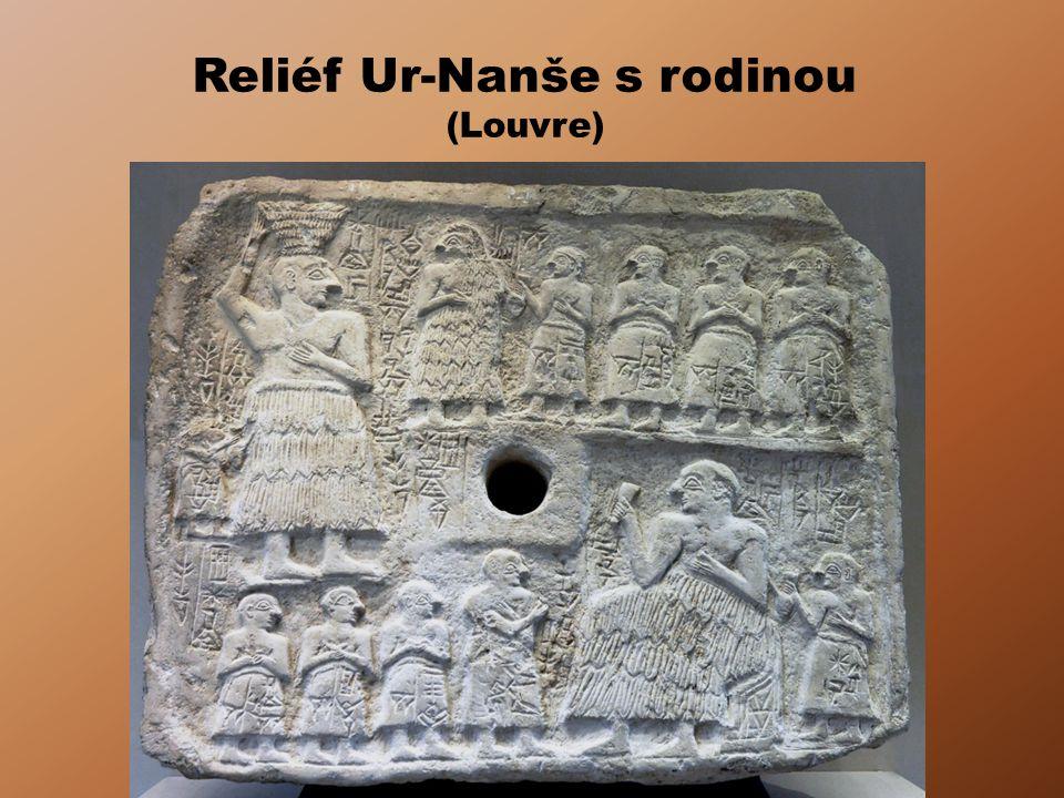 Reliéf Ur-Nanše s rodinou (Louvre)