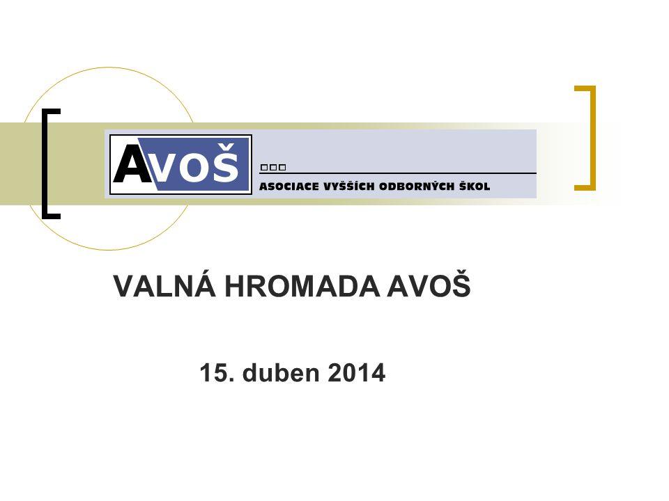 VALNÁ HROMADA AVOŠ 15. duben 2014