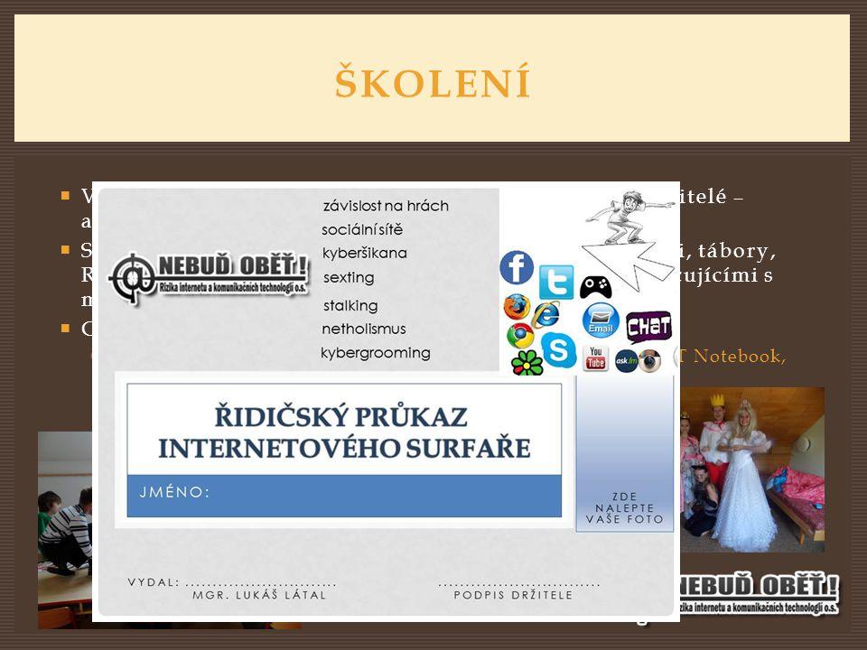  Všechny dotčené cílové skupiny (žáci ZŠ, SŠ, rodiče, učitelé – akreditace DVPP, knihovníci).  Spolupráce s metodiky na ŽS, PPP Ostrava, knihovnami,
