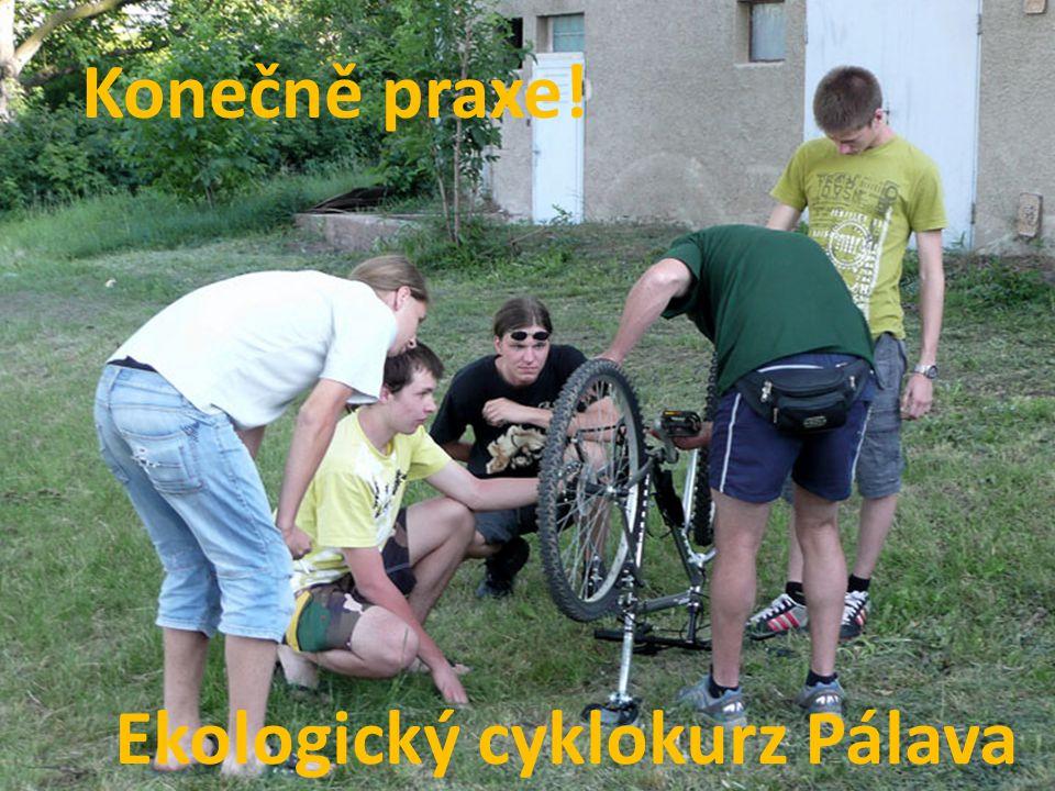 Konečně praxe! Ekologický cyklokurz Pálava