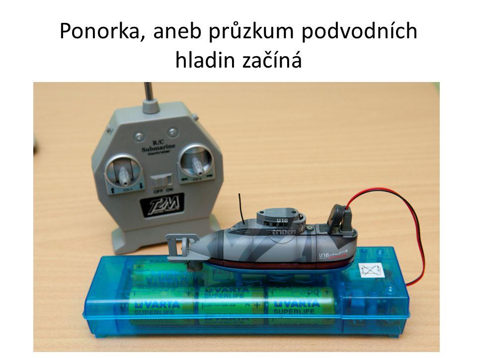 Ponorka, aneb průzkum podvodních hladin začíná