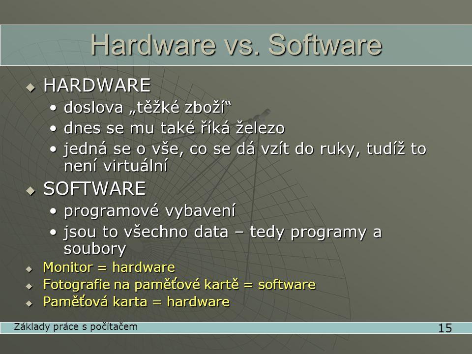 Hardware vs.