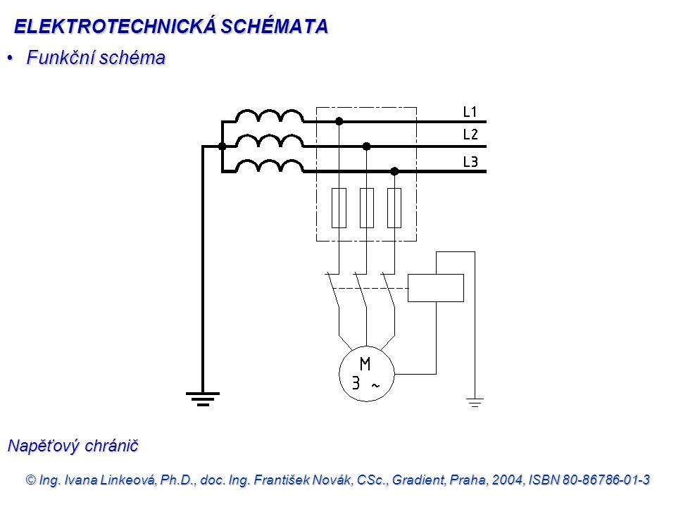 © Ing. Ivana Linkeová, Ph.D., doc. Ing. František Novák, CSc., Gradient, Praha, 2004, ISBN 80-86786-01-3 •Funkční schéma Napěťový chránič ELEKTROTECHN