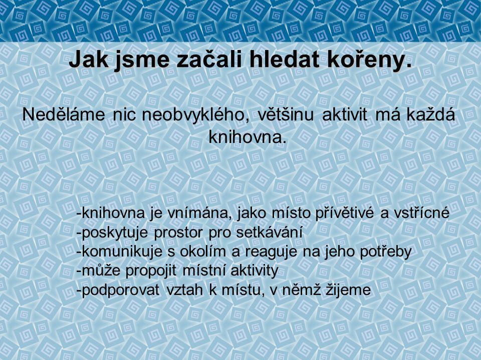 CELOROČNÍ PROJEKTY 2003 - Pohádkový rok B.M.