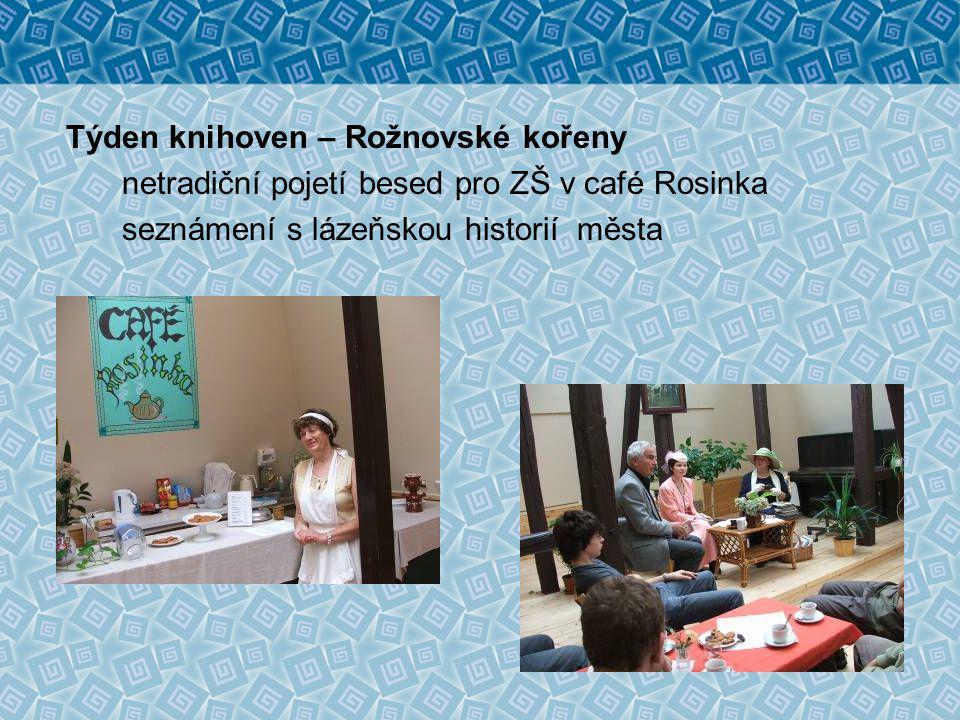 Rožnovské kořeny a kořínky Večer věnovaný velkým osobnostem, které žily nebo navštívily Rožnov a mladým lidem, kteří se v budoucnu mohou takovými osobnostmi stát.