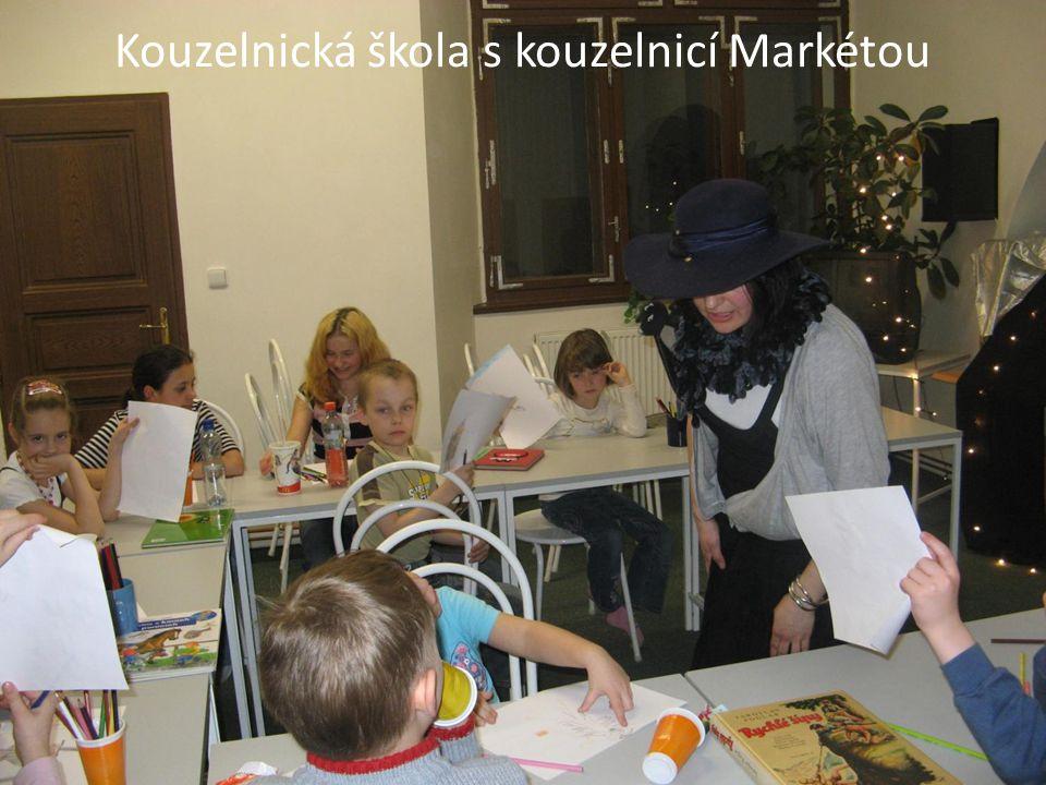 Kouzelnická škola s kouzelnicí Markétou