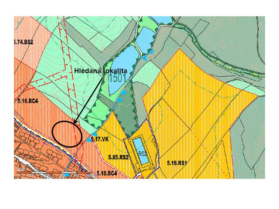Zjistili jsme, že požadovaná lokalita je v plochách 5.16.BC4 Číslo 5 znamená označení sektoru v tomto případě 5 = Vratislavice n/N Číslo 16 znamená označení návrhové lokality v daném sektoru Hledaná lokalita BC4 označuje využití ploch.