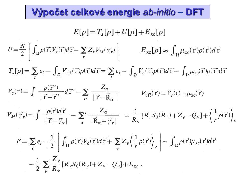AnN, An- kohezní energie AnN, An - kohezní energie
