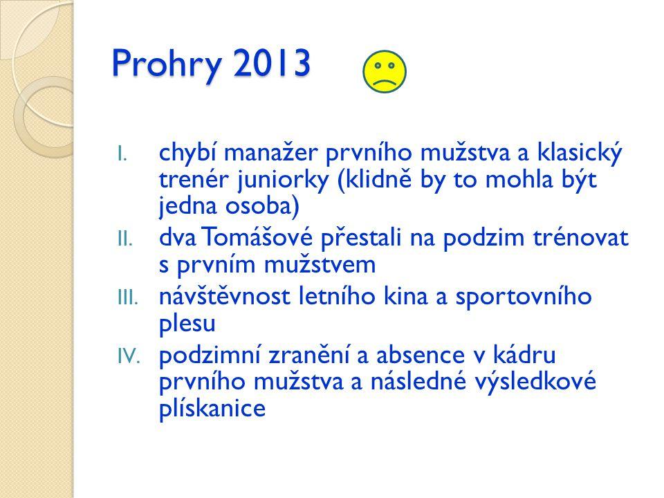 Prohry 2013 I.