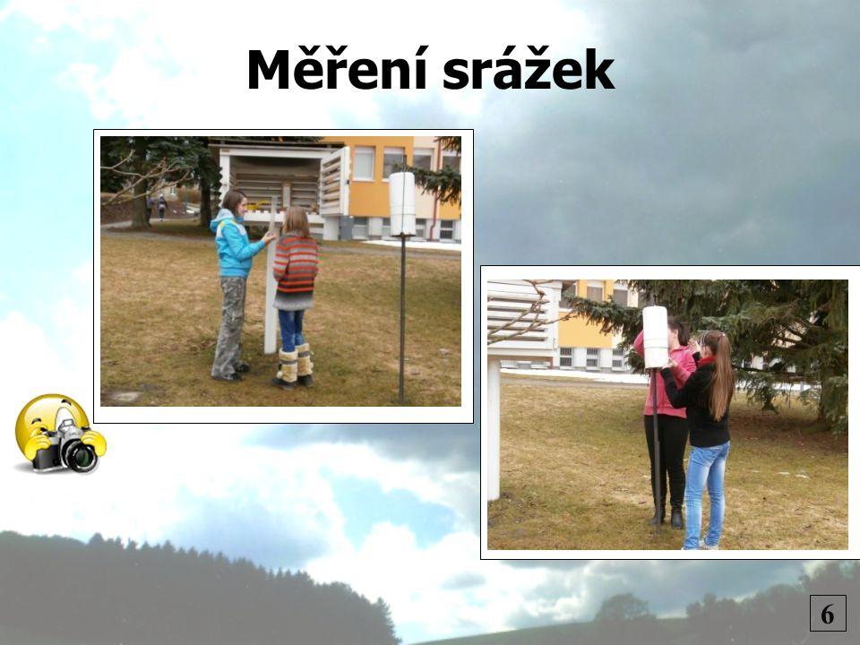 Měření srážek 6