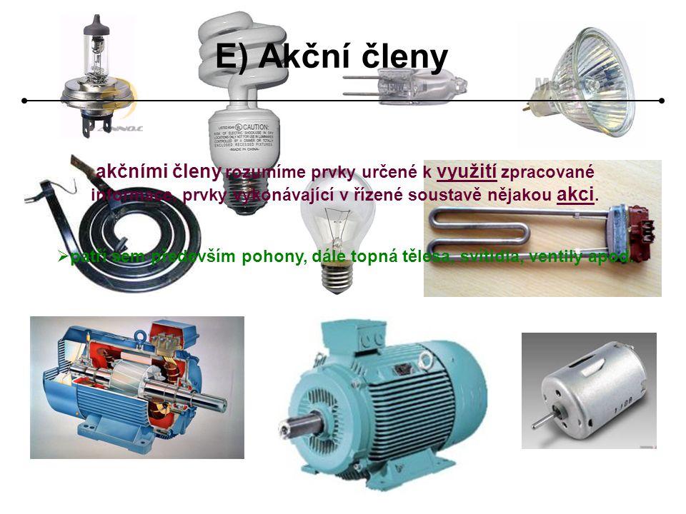 Základní druhy pohonů podle energie: • elektrické • pneumatické • hydraulické Elektrické pohony  mění elektrickou energii na mechanickou,  lze je snadno řídit,  existuje mnoho druhů s různými vlastnostmi