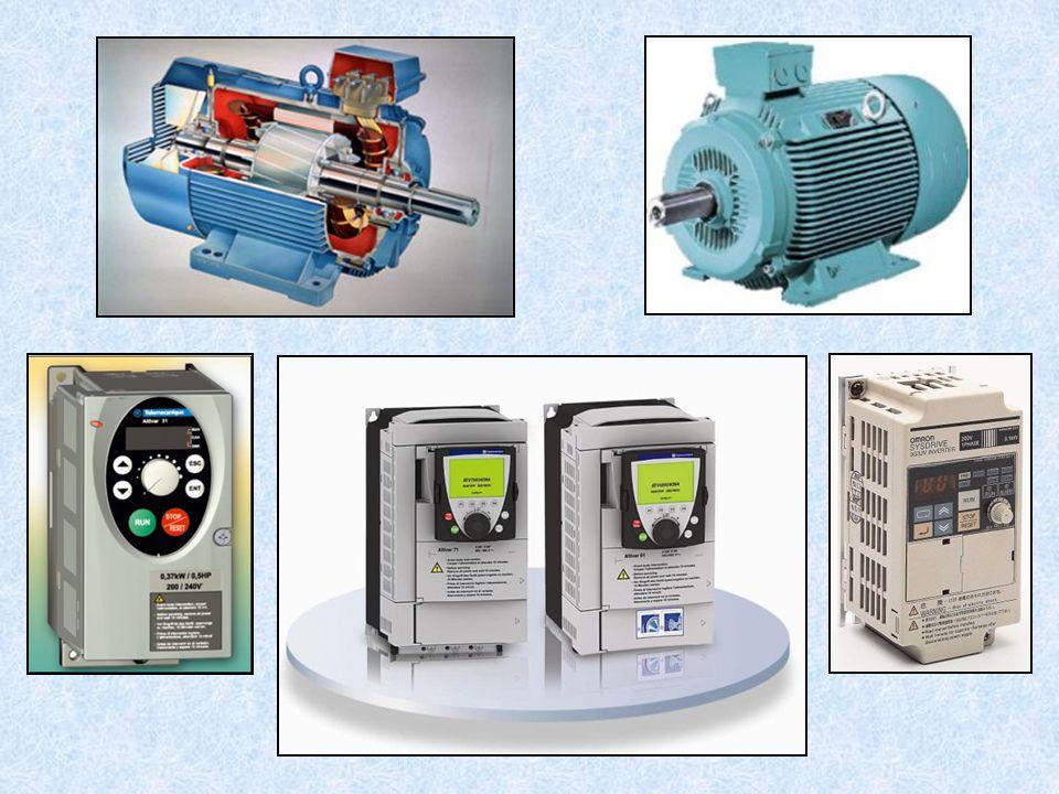 3) Komutátorové 1-fázové motory = hybrid - s komutátorem a na střídavý proud,  použití: např.