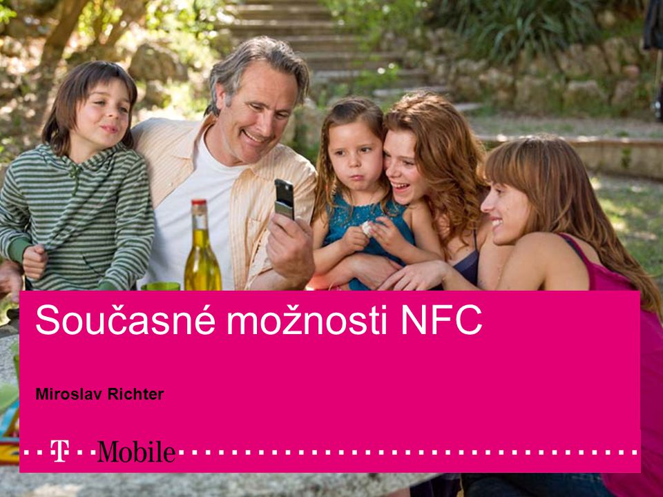 08/29/2007Author / Presentation title1 Současné možnosti NFC Miroslav Richter