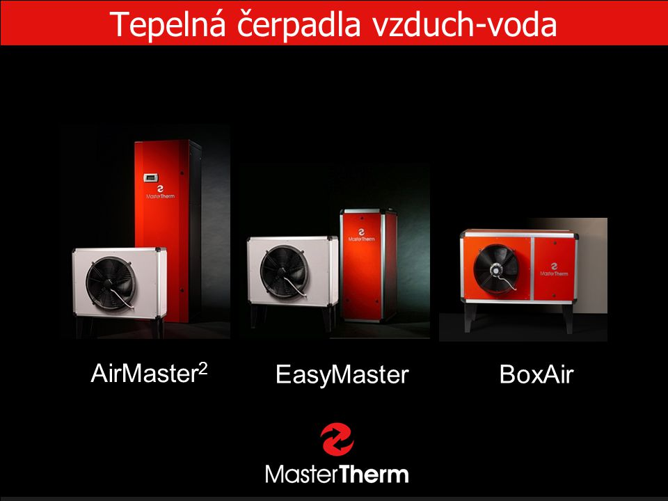 Tepelná čerpadla vzduch-voda EasyMaster AirMaster 2 BoxAir