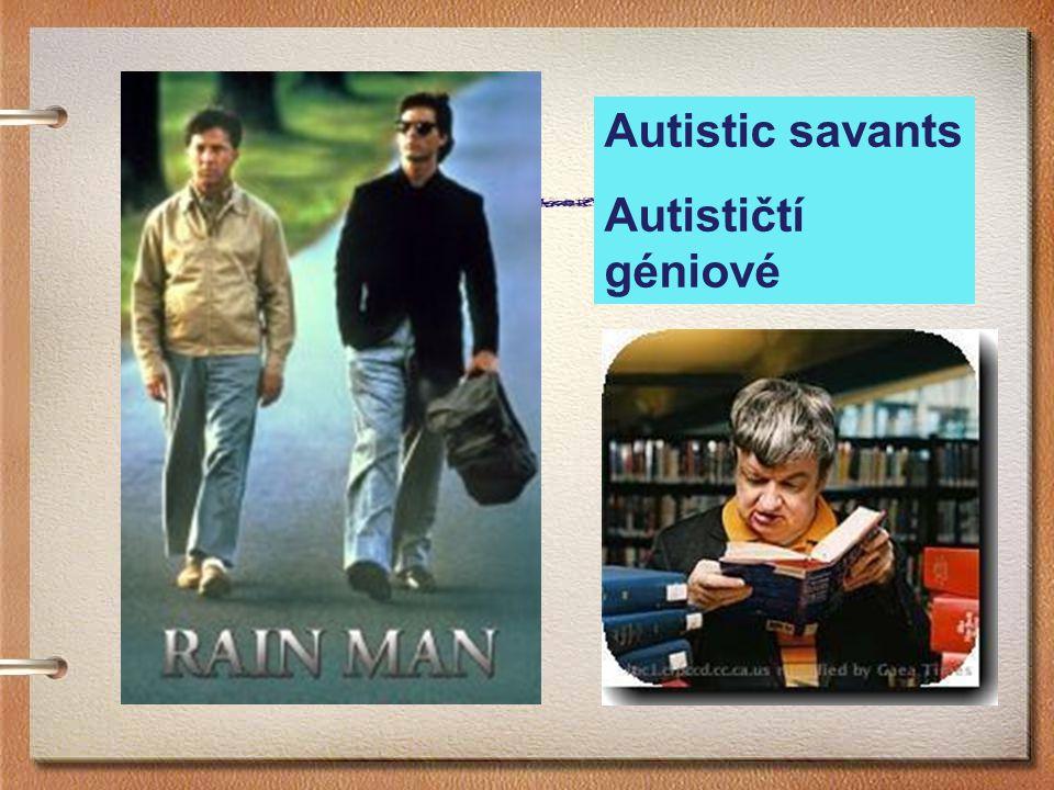 Jak poznáme autizmus.
