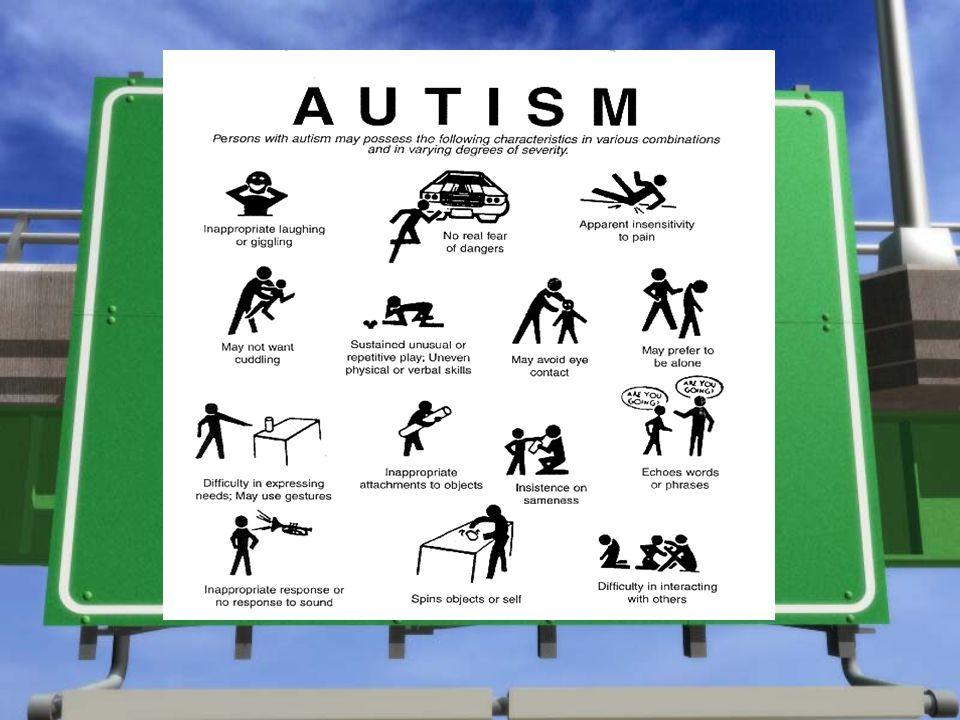 PAS: DSM-IV a MKN-10 •Pervazivní vývojové poruchy F84.0: •Dětský autizmus •Autizmus s regresem •Aspergerův syndrom •Rettův syndrom •PDD-NOS •Hyperaktivní porucha sdružená s mentální retardací