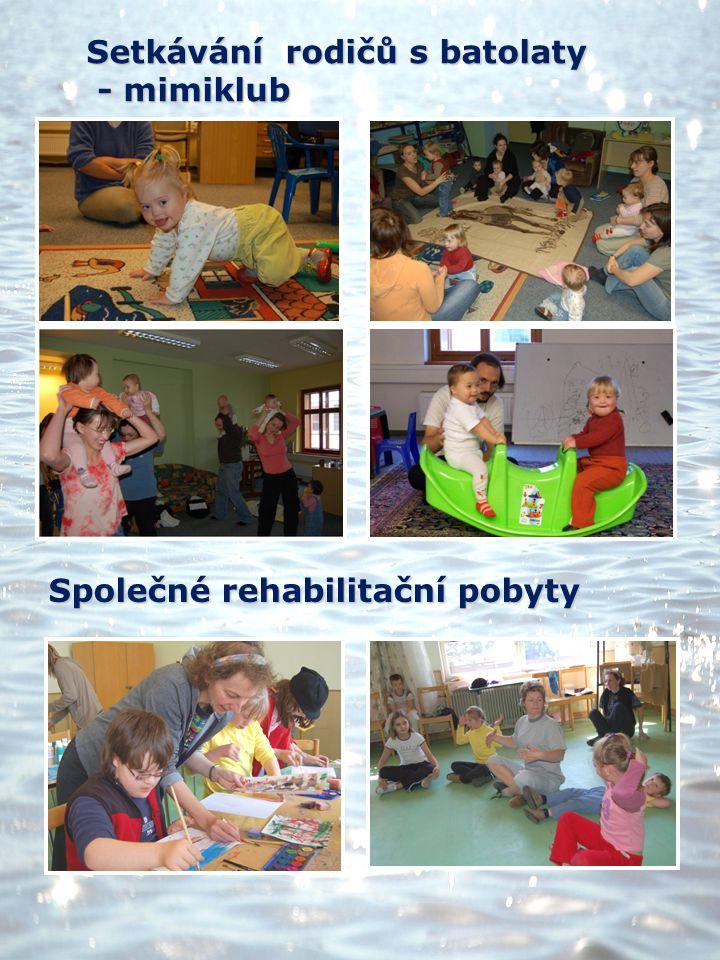 Setkávání rodičů s batolaty - mimiklub - mimiklub Společné rehabilitační pobyty