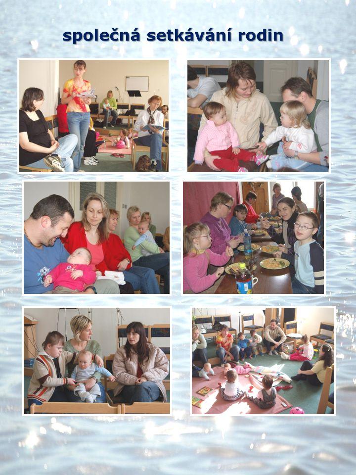 společná setkávání rodin