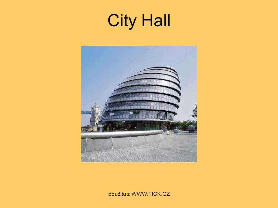 City Hall použitu z WWW.TICK.CZ