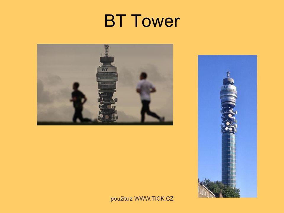 BT Tower použitu z WWW.TICK.CZ