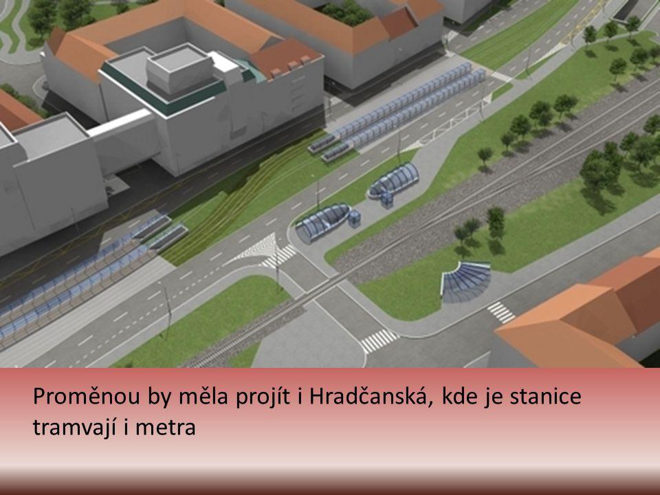 Auta právě podjela tunelem Blanka pod Stromovkou a míří do severní části Prahy