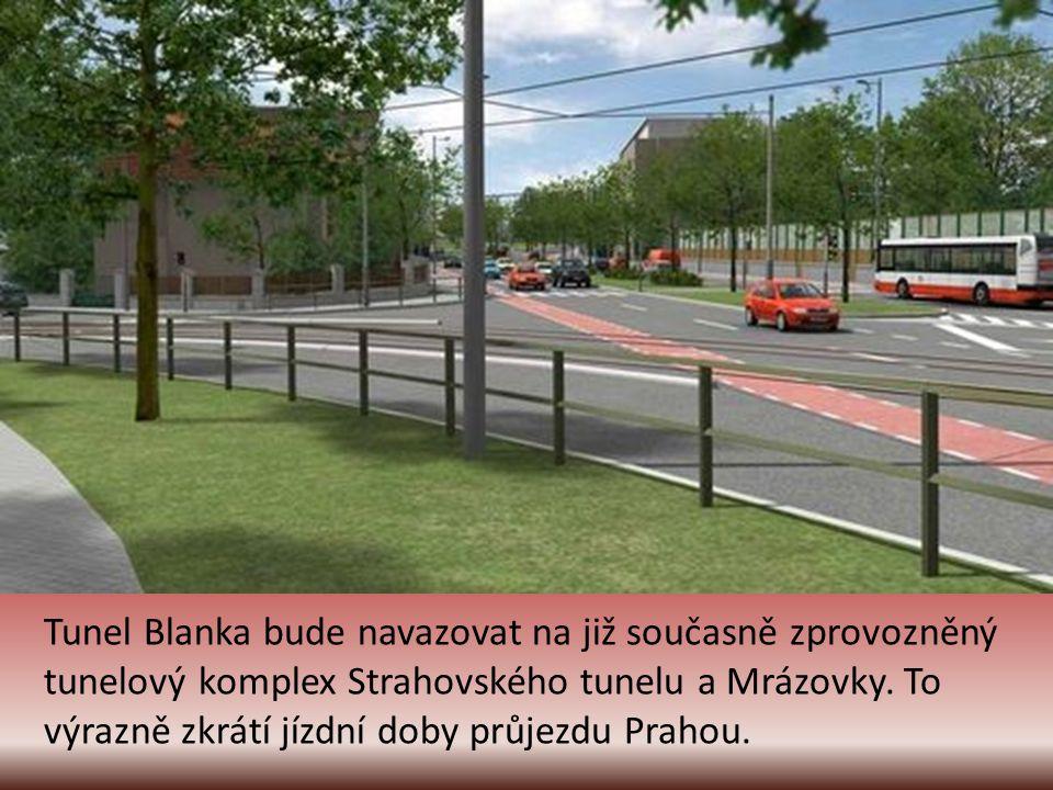 Moderní tramvajové zastávky na Hradčanské.
