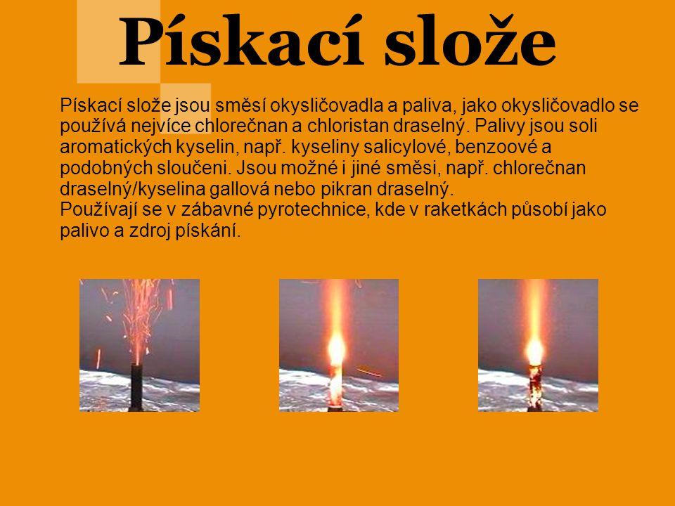 Třaskaviny Jsou to snadno vznítitelné výbušniny, které obvykle slouží k inicializaci výbuchu trhavin nebo střelivin.