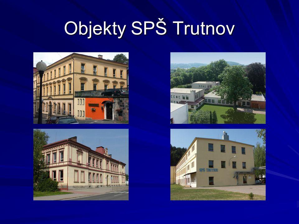 Objekty SPŠ Trutnov