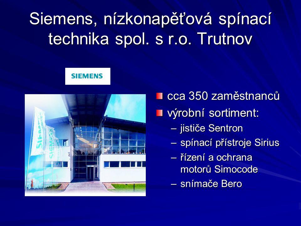 Siemens, nízkonapěťová spínací technika spol. s r.o.