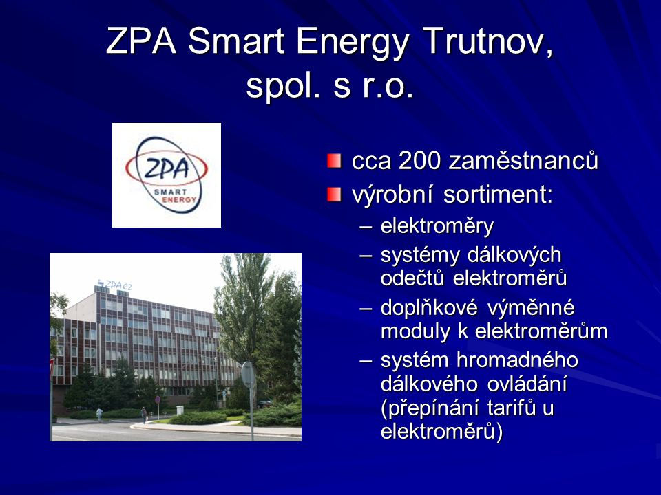 ZPA Smart Energy Trutnov, spol. s r.o.