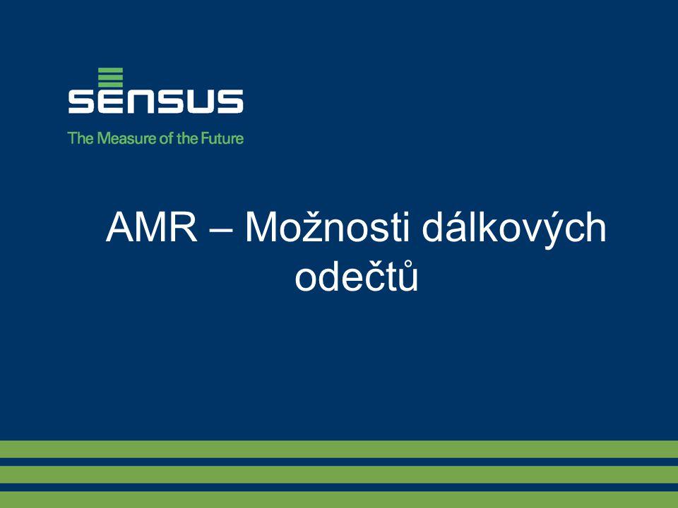 AMR – Možnosti dálkových odečtů