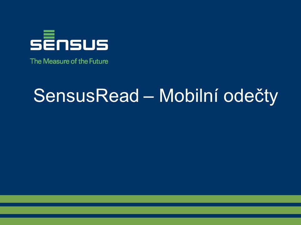 SensusRead – Mobilní odečty