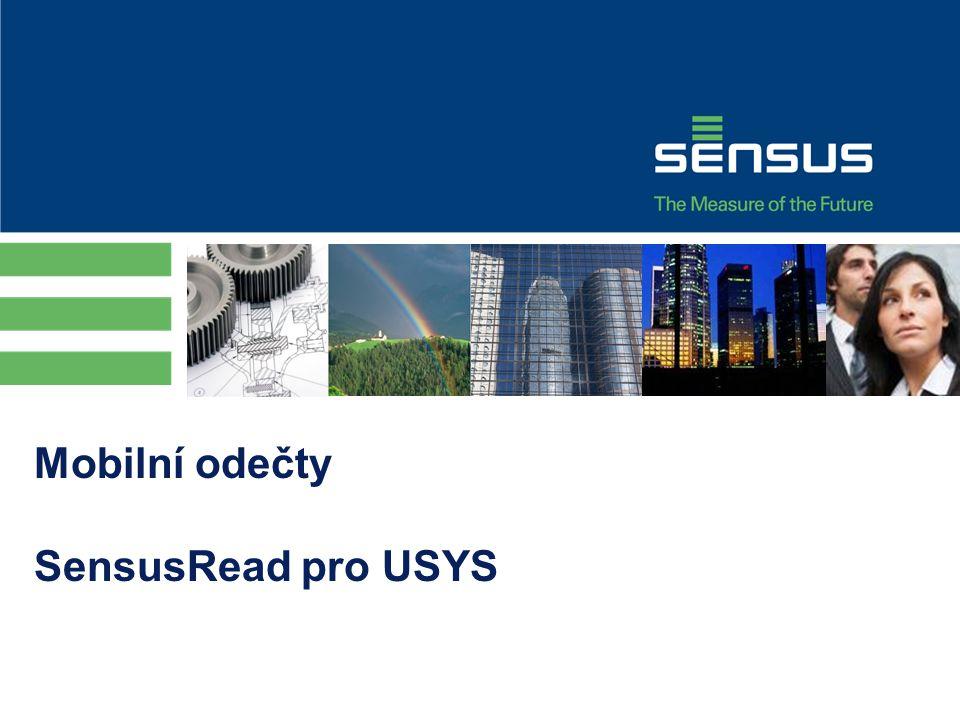 Mobilní odečty SensusRead pro USYS
