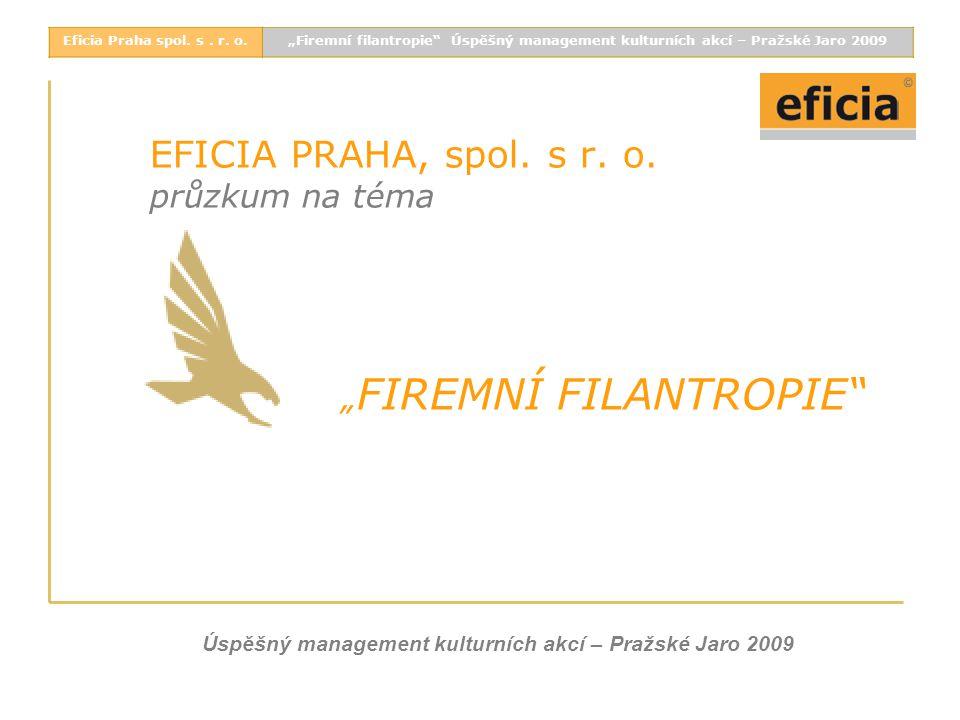 EFICIA PRAHA, spol. s r. o.