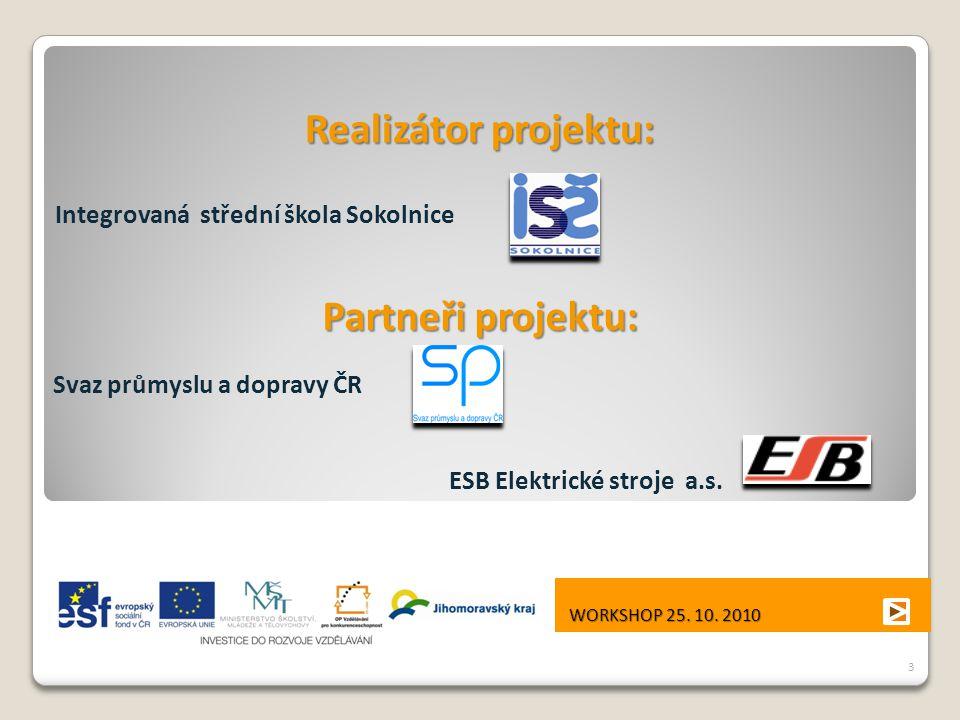 Svaz průmyslu a dopravy ČR ESB Elektrické stroje a.s.