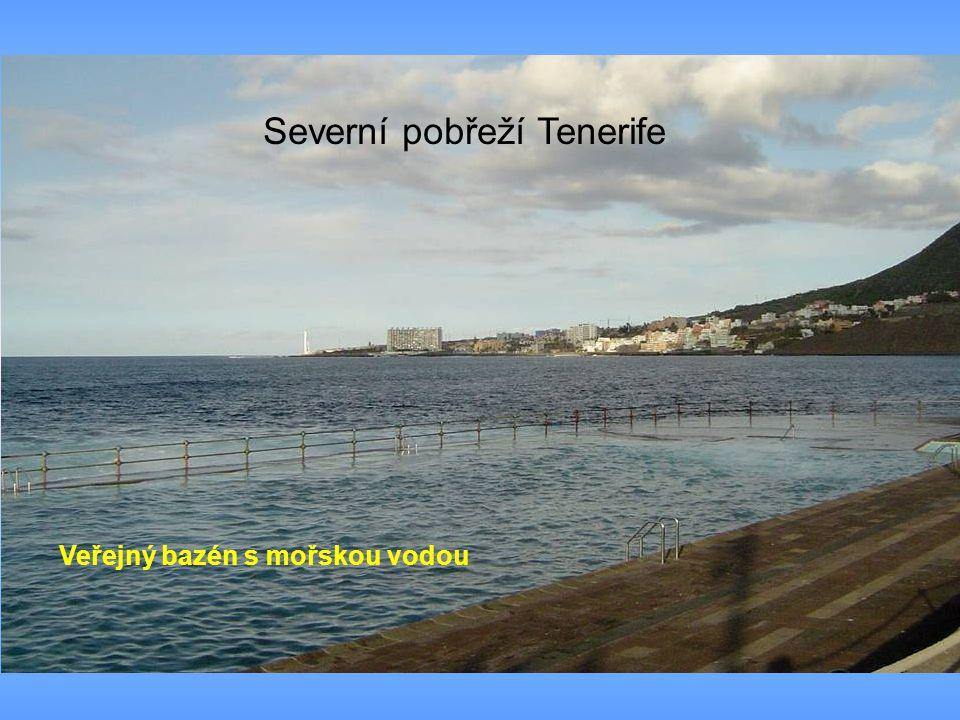 Veřejný bazén s mořskou vodou Severní pobřeží Tenerife