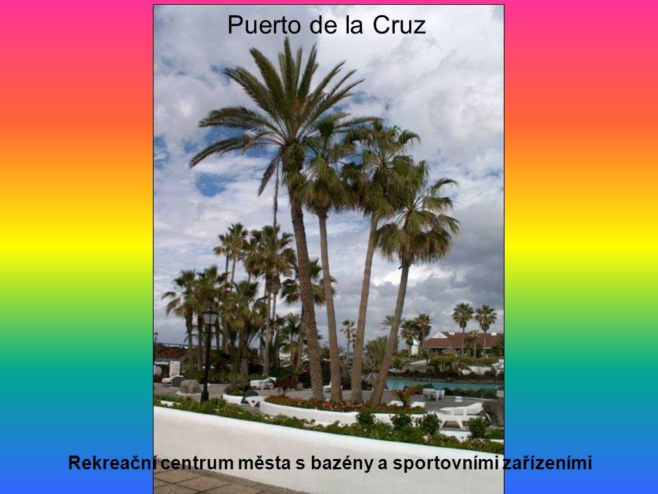 Puerto de la Cruz Rekreační centrum města s bazény a sportovními zařízeními