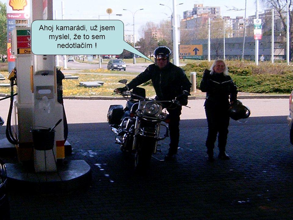 Pěkná motorka, ale něco tomu chybí