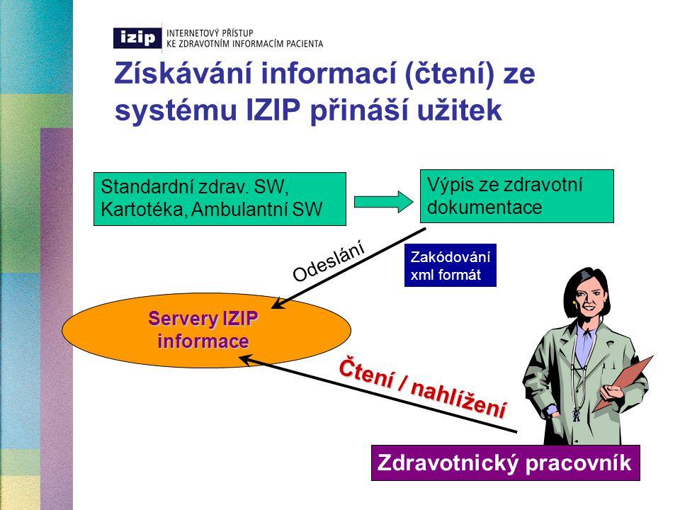 Datový standard MZ ČR – DS3  Hlavní přínosy  univerzálnost  plnohodnotnost  kompatibilita dat  bloky pro všechny typy výkonů  garance odeslaných informací  opravy sdělených informací ZP  bezpečnost