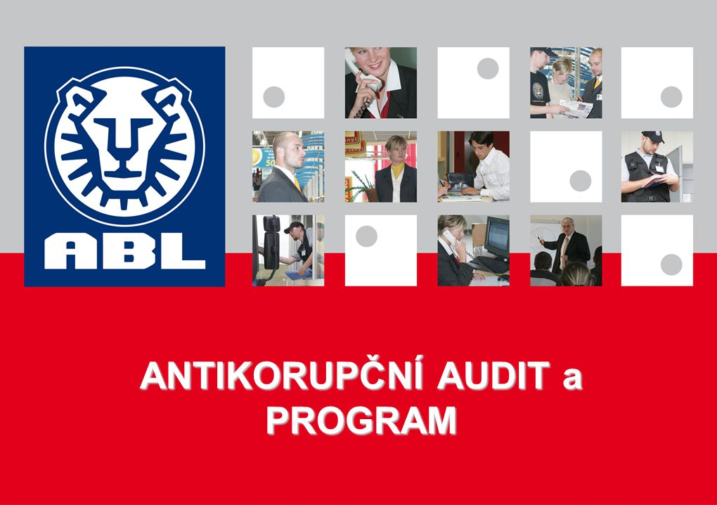 ANTIKORUPČNÍ AUDIT a PROGRAM