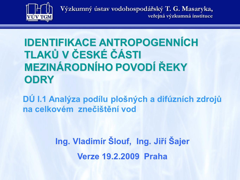 Úvod Plošné a difúzní zdroje v české části povodí Odry tvoří u řady ukazatelů významný podíl na jakosti povrchových vod.