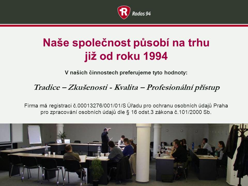RODOS 94 – poradenství a vzdělávání Kdo jsme.Co svým klientům nabízíme.