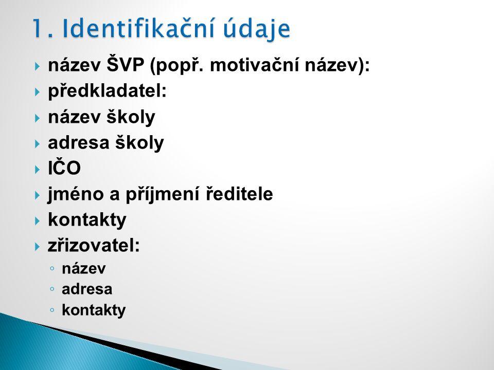  název ŠVP (popř.
