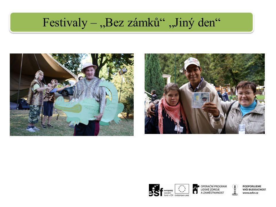"""Festivaly – """"Bez zámků"""" """"Jiný den"""""""