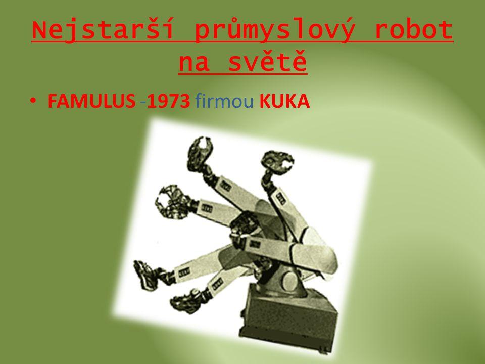 Nejstarší průmyslový robot na světě • FAMULUS -1973 firmou KUKA