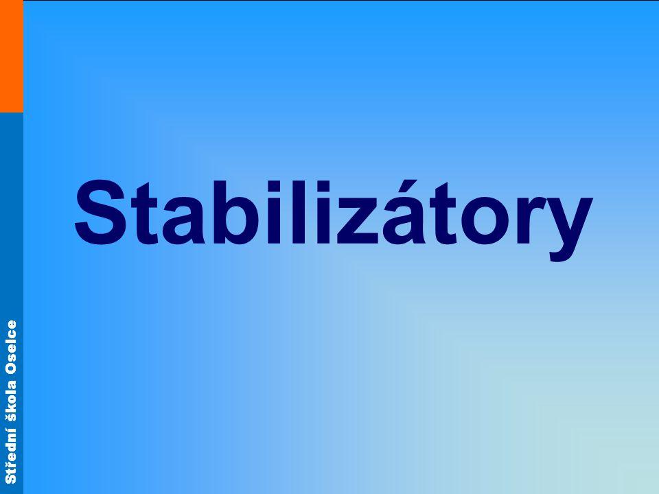 Střední škola Oselce Stabilizátory