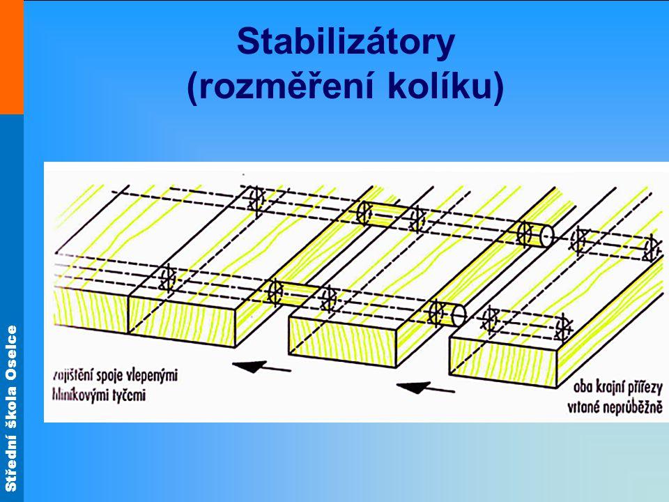 Střední škola Oselce Stabilizátory (rozměření kolíku)