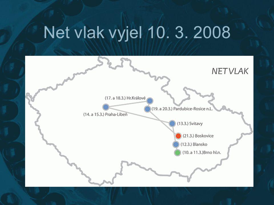 Net vlak V rámci BMI se na kolejích Českých drah objevila zvláštní souprava dvou vozů.