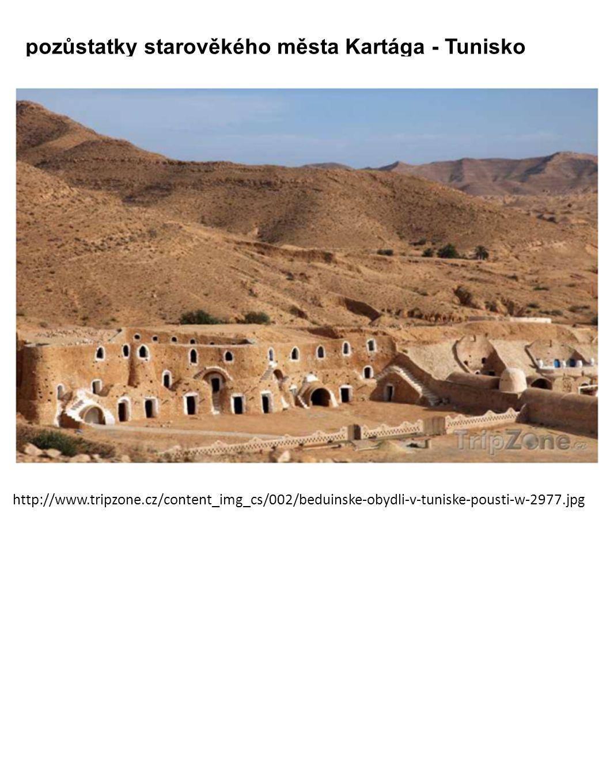 pozůstatky starověkého města Kartága - Tunisko http://www.tripzone.cz/content_img_cs/002/beduinske-obydli-v-tuniske-pousti-w-2977.jpg