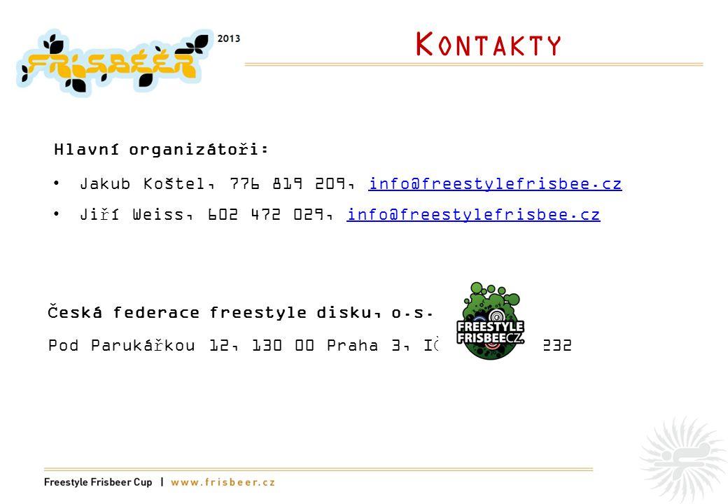 K ONTAKTY Česká federace freestyle disku, o.s.
